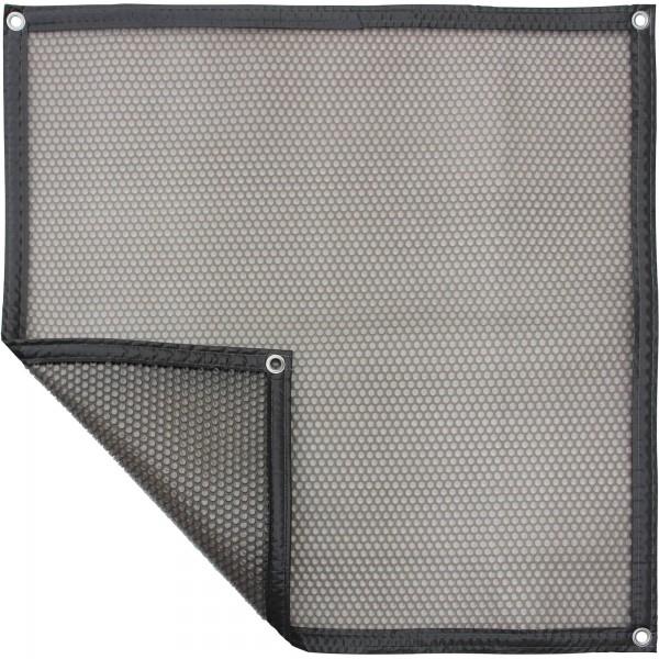 Luftpolsterabdeckung - grau/transluzent 400my, geometrische Form pro m², verschiedene Varianten