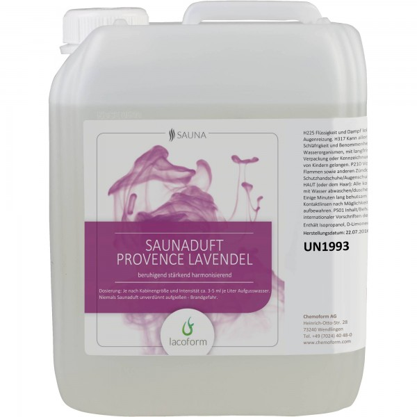 Saunadüfte Provence Lavendel