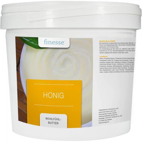 Wohltuende Wohlfühl-Butter Honig