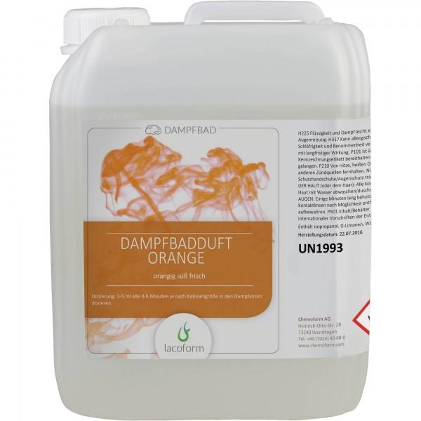 Dampfbad-Düfte Orange