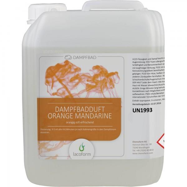 Dampfbad-Düfte Orange Mandarine