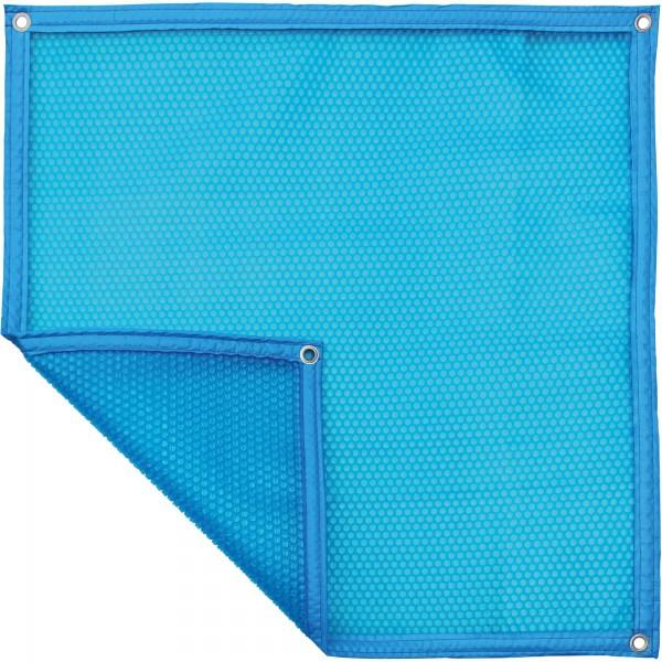 Luftpolsterabdeckung - blau/blau 500my, Treppenausschnitt pro m², verschiedene Varianten