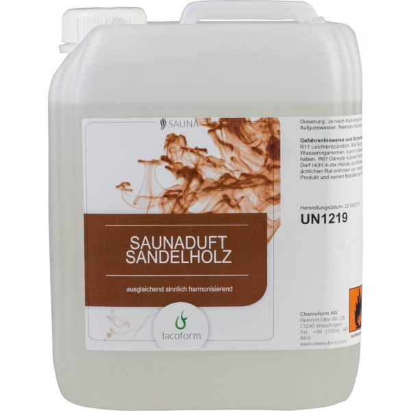 Saunadüfte Rotes Sandelholz