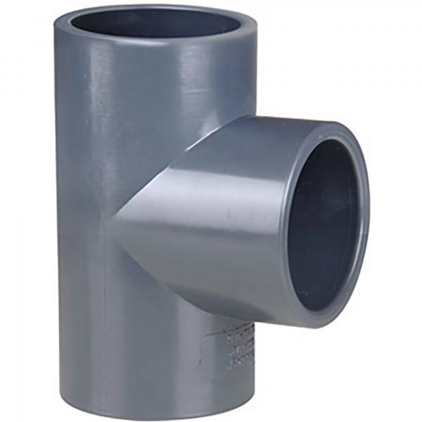 PVC-T-Stück 90° d = 63 Ø