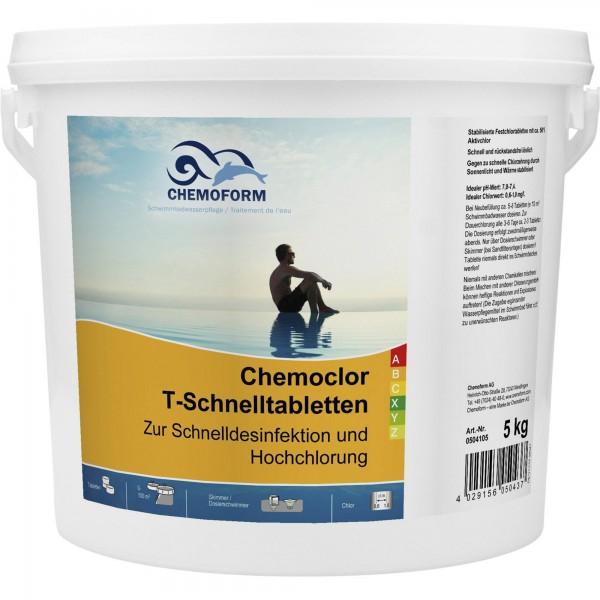 CHEMOFORM Chemoclor T-Schnelltabletten 20g