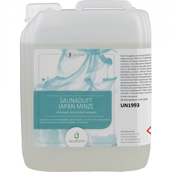Saunadüfte Japan Minze