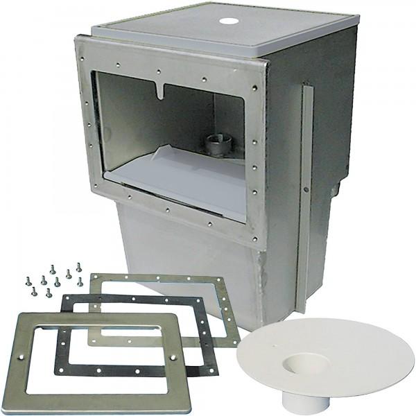 Oberflächenabsauger V4A für Folienbecken