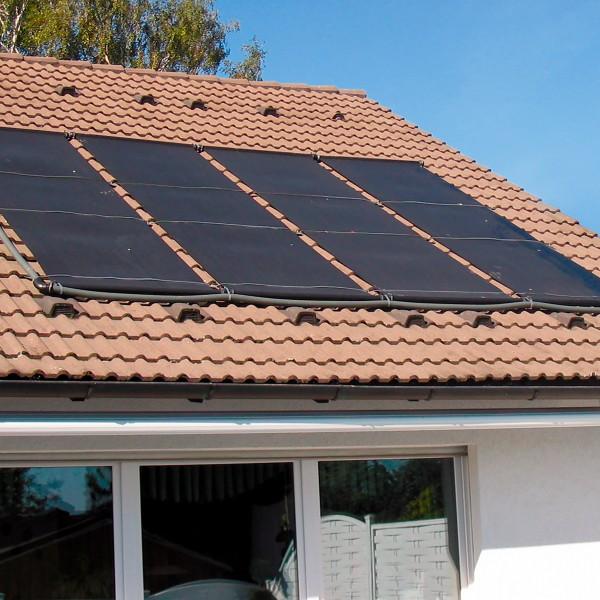 Solarabsorber Ergänzungs-Set 200 x 120 cm
