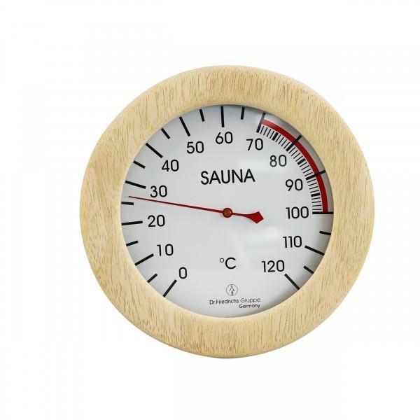 Sauna Thermometer im Holzrahmen DeLuxe