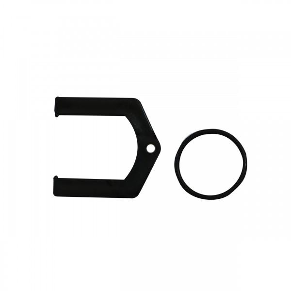 Klemme und O-Ring