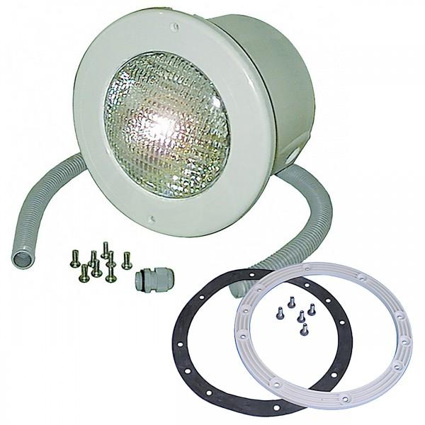 Unterwasserscheinwerfer 300 W ABS für Folienbecken