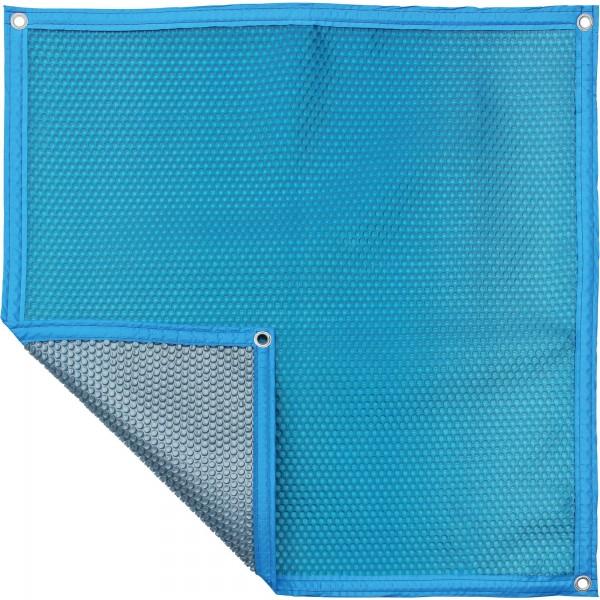 Luftpolsterabdeckung - blau/silber 500my, freie Form pro m², verschiedene Varianten