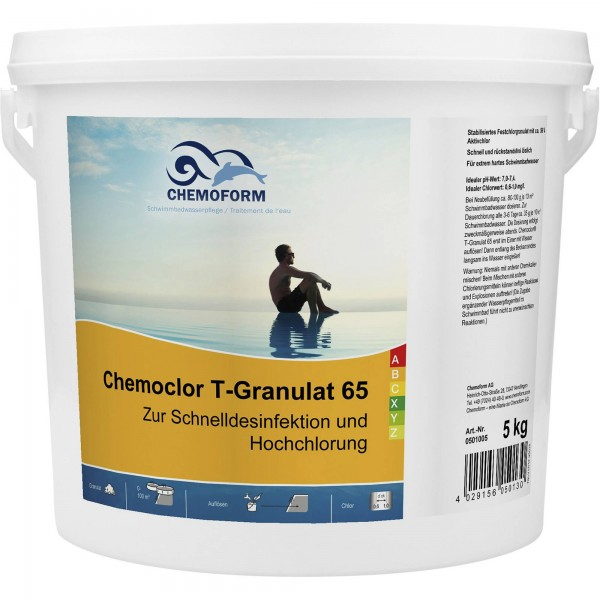 CHEMOFORM Chemoclor T-Granulat 65