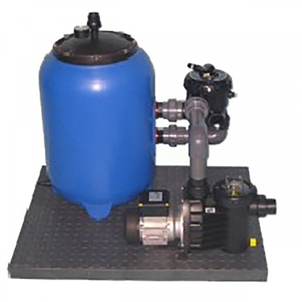 Filteranlage Set 600mm - SIDE MOUNT