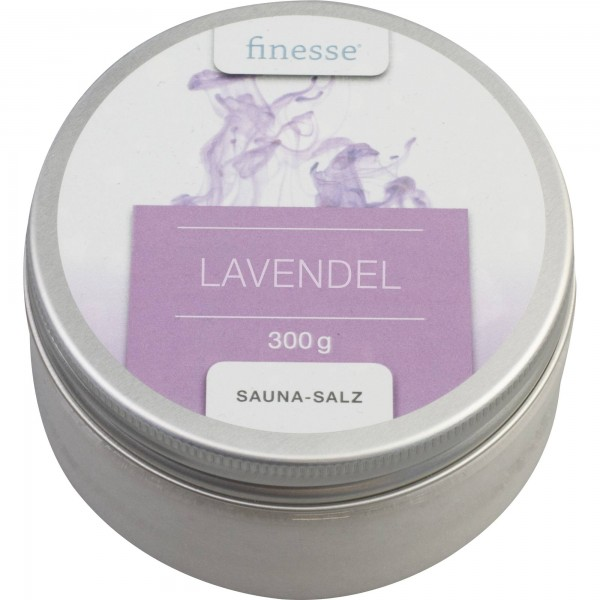 Unsere Sauna-Salze Lavendel