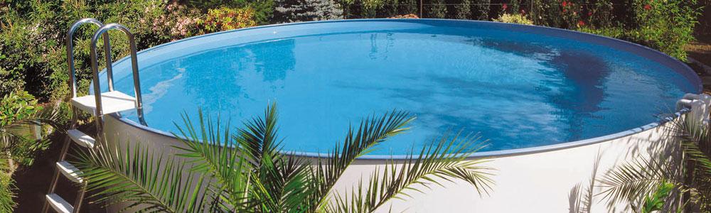 Stahlwand-Pools
