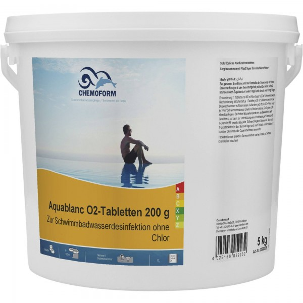 CHEMOFORM Aquablanc O2-Tabletten 200 g
