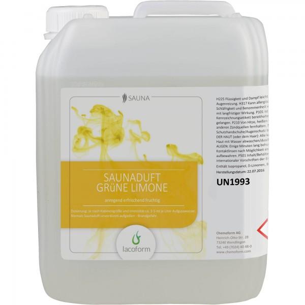 Lacoform Saunaduft Grüne Limone
