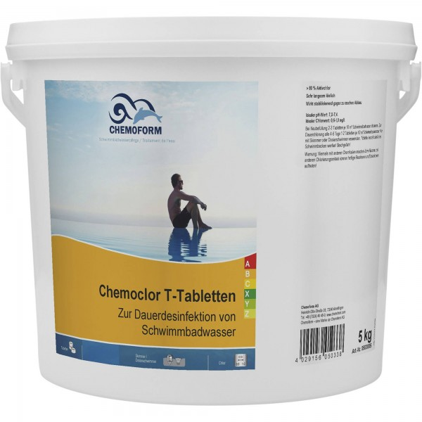 CHEMOFORM Chemoclor T-Tabletten 20 g