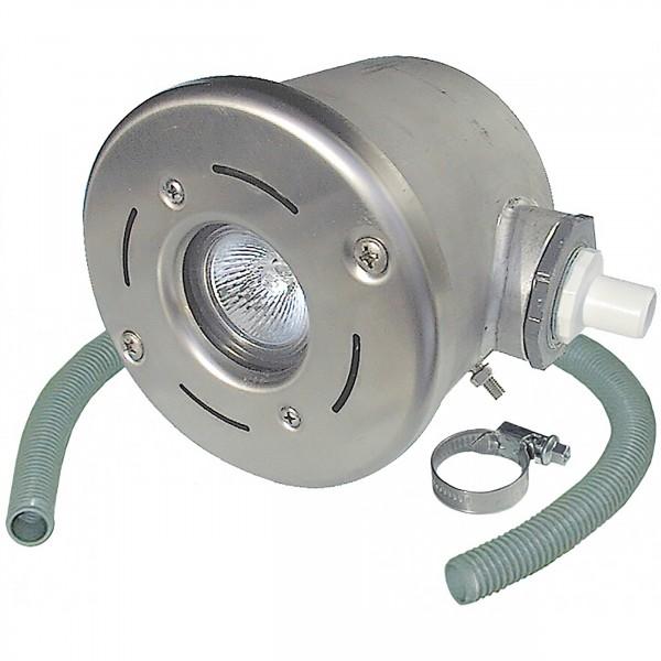 Unterwasserscheinwerfer Halogen 50 W aus Edelstahl
