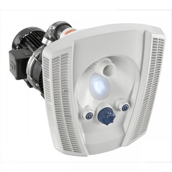 BADU Jet wave mit weißer LED Fertigmontagesatz 58 m³/h