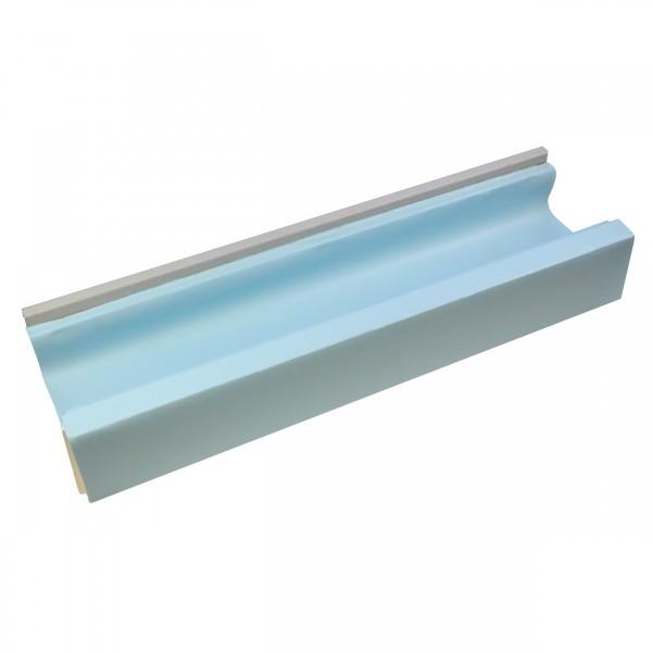 Styropornormalstein EPS100* Überlaufrinne inklusive Kunststoffleisten