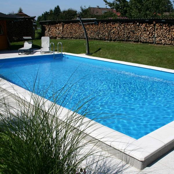 Styropor Schwimmbecken Set 800 x 400 x 150 cm