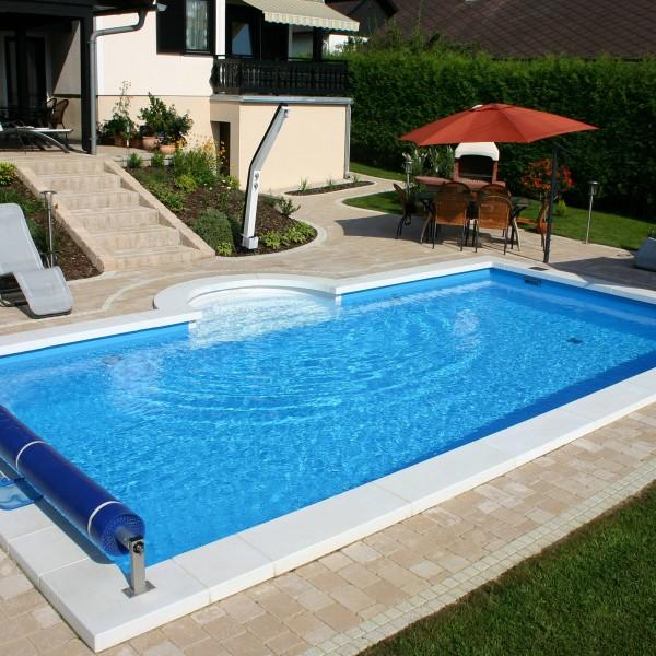 Styropor Schwimmbecken Set 600 x 300 x 150 cm