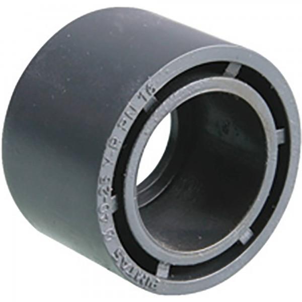 PVC-Reduzierung kurz 63 auf 50 mm